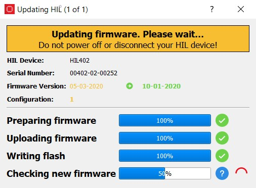 HIL Firmware Manager