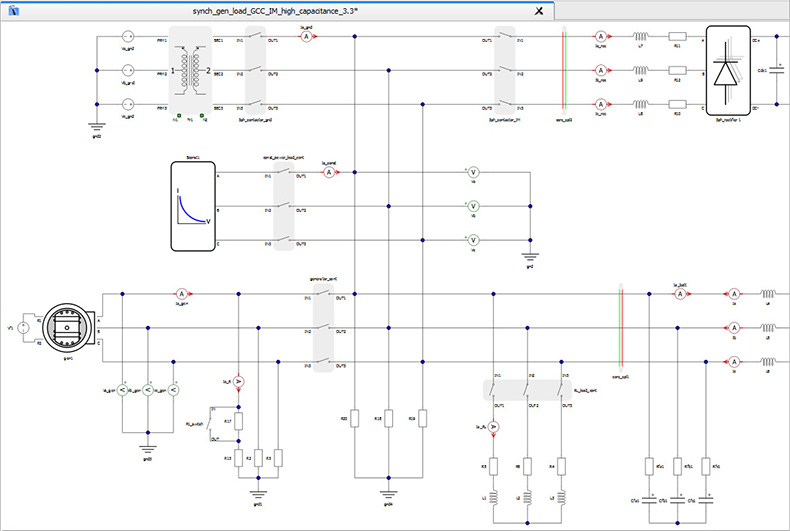 Compile a model with one click thanks to our signature compiler tailored for power electronics.