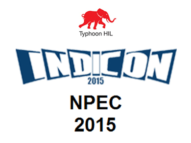 Typhoon HIL captivates visitors at INDICON and NPEC in India
